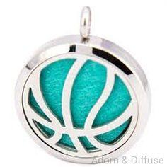 Basketball Diffuser Locket Necklace