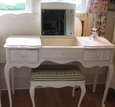 French Provincial Vanity Vintage California Furnishings
