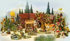 Sommer http://www.bestofchristmas.com/Miniaturkunst-und-Figuren/Limitierte-Edition-Kindertraum-Miniaturkunst/Zauber-der-Natur/?campaign=pinterest/LE/ZauberderNatur