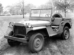 1940's - this is the first year the jeep was made and invented, it shows a bit of craftsmanship and innovation from the people of the time. They were used in the military primarily.