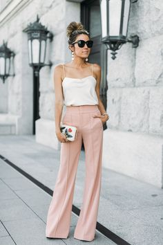 These blush pink pants are seriously amazing and have the best fit!