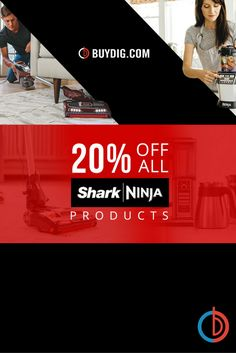 Take 20% Off All Shark, SharkNinja, and Ninja products with Coupon Code! Limited Time Offer!