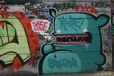 Street art | Mural (Barcelona, Spain) by The-Kiwie