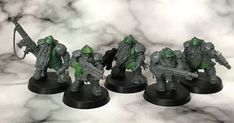 Death of a Rubricist: + inload: Tutorial – Converting squats from Kharadron Arkanauts Sisters Of Silence, Imperial Fist, Warhammer Models, Warhammer 40000, Space Marine, Miniture Things, Weekend Is Over, Squats, Conversation