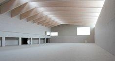 Tom Thys.  Nieuwbouw Sporthal en Jeugdcentrum Linkeroever,Antwerpen. #BelgianArchitecture