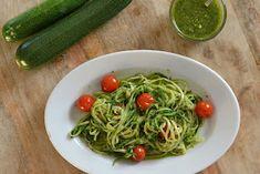 Pesto, Spaghetti, Cooking, Ethnic Recipes, Food, Wordpress, Mushroom, Recipes, Vegetarian Burgers