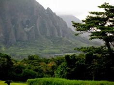 Koolau Mountains in Oahu Hawaii Beautiful Photos with a very relaxing music