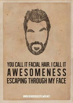 Did you know we do beard trims as well?  We're not just a hair salon, we're a barber shop too. ;-)
