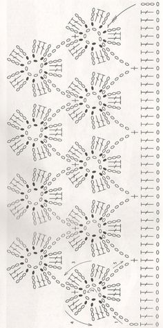 If you looking for a great border for either your crochet or knitting project, check this interesting pattern out. When you see the tutorial you will see that you will use both the knitting needle and crochet hook to work on the the wavy border. Crochet Boarders, Crochet Lace Edging, Crochet Motifs, Crochet Diagram, Crochet Stitches Patterns, Crochet Chart, Crochet Trim, Crochet Doilies, Crochet Flowers