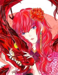 Yona of the Dawn, hui-an: The Red Dragon