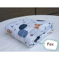 Muslin Baby Swaddle Blanket Cotton & Bamboo