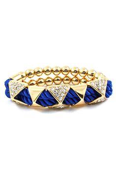 Royal Crystal Sadie Bracelet | Emma Stine Jewelry Bracelets