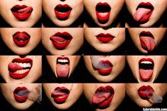 cool lipstick ...