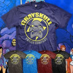 HeMan and the Masters of the Universe by MetaCortexShirts on Etsy