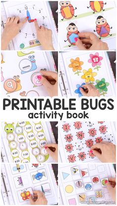 Printable Bug Activity Book – Easy Peasy and Fun Membership