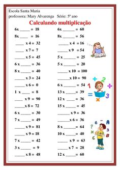 Math Practice Worksheets, School Worksheets, Math Tables, Math Sheets, Daily Math, Math Books, Third Grade Math, Math Practices, Science Experiments Kids