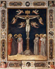 Gaddi, Taddeo - Crucifixion - Santa Croce, Florence