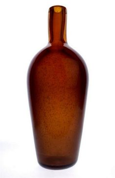 Lubomir Blecha, glass vase from serie Vulcanica, 1963, Pattern No: 6317, M: 41,0 cm, glassworks Skrdlovice, Czechoslovakia