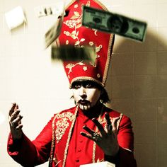 Pope Manson. #MarilynManson