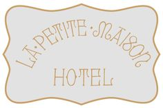 Logo Hotel that I create with Adobe Illustrator