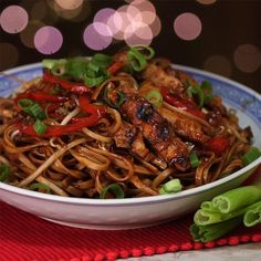 Chicken Lo Mein Is Saucy and Packed with Layered Flavors - Shared