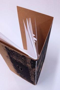 Reliures pour cahier unique : Nathalie - by Julie  Auzillon