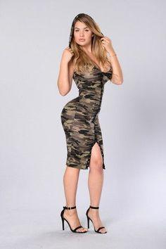 788082526db37 Summer Camp Dress - Camo