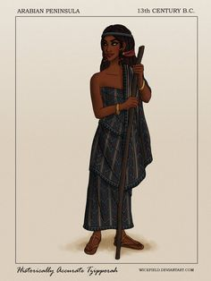 Historically Accurate Tzipporah by Wickfield on DeviantArt