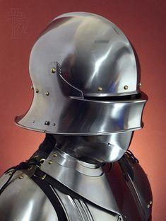 bevor | German Gothic Sallet and Bevor - Age of Armour