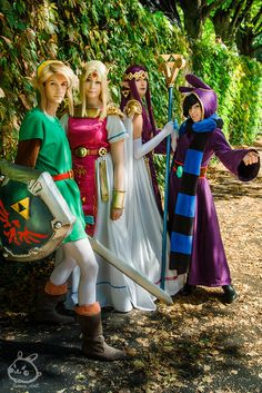 Lovely Link between Worlds Cosplay group