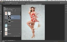 How to create a Photoshop scatter effect: step 8