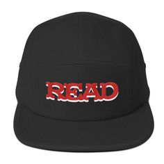 read mad magazine embroidered five panel hat cap nerd geek gift Five Panel Hat, Mad Magazine, Dad Caps, Geek Humor, Nerd Geek, Geek Gifts, Nerdy, Baseball Hats, Geek Stuff