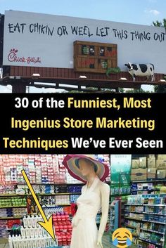 30 of the Funniest, Most Ingenius Store Marketing Techniques We've Ever Seen Nickelback Songs, Marketing Techniques, Patchwork Designs, Wtf Fun Facts, Daily Funny, Interesting Reads, Just For Laughs, Funny Fails, Confessions
