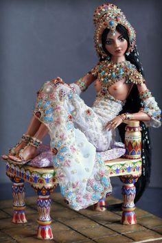 India doll with headdress