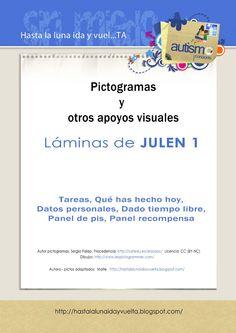 Laminas JULEN. Material per a nens amb Autisme