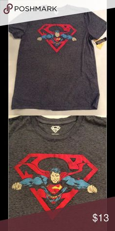 NWT superman shirt sz large New with tags superman shirt Shirts Tees -  Short Sleeve f4402d8c740c