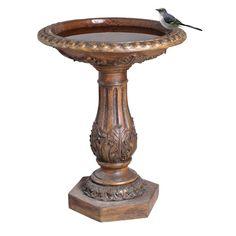 Torrie Birdbath-Y97030 - The Home Depot