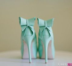 miętowe, słodkie buty ;)