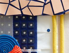 """""""The future is urban"""" in the theme park at Heimtextil 2018. 