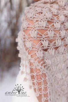 Shrug Bolero Shawl / Bridal Shrug / Crochet Shrug by MODAcrochet