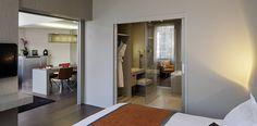 Suite spacieuse de 60m² et lit king size à l'Hôtel Pullman à Toulouse | France  #France #Toulouse #Hotel #Chambre #Bedroom