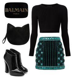 """Balmain"" by rachelmadison on Polyvore"