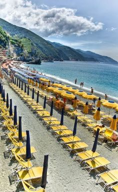 Monterosso Cinque Terre...most gorgeous place on earth... And I have been there!