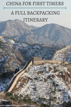 Visiting China for the first time and not sure where to begin planning? Take a peek at this first time in China itinerary which contains a lot of China highlights and takes just a month!