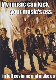 welcome to the world of visual kei and jrock! XD