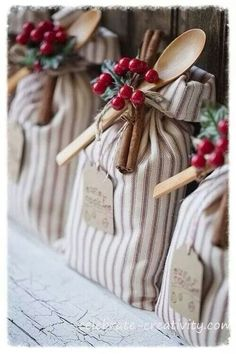 Cocoa filled bags