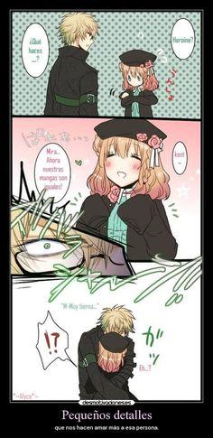 carteles amor anime amnesia kent heroine desmotivaciones: