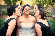 Kiss the bride lol