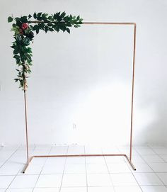 Copper Backdrop with Back Brace Wedding Backdrop – Wedding Arch – Copper Arch – Minimalist Decor – Party Backdrop Floral Arch – Copper – wedding Bridal Shower Backdrop, Bridal Shower Photos, Bridal Pictures, Bridal Shower Rustic, Bridal Shower Decorations, Wedding Decorations, Bridal Showers, Wedding Photos, Copper Wedding