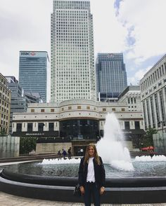 First visit to Canary Wharf. Having a lovely day out witth @dom_odonnell  #london #dayout #canarywharf #fun #happy #selfie #building #goodpic #saturday #today #weekend #water #me #spring #city #havingfun #photography #dlr #love by chloe_lewis
